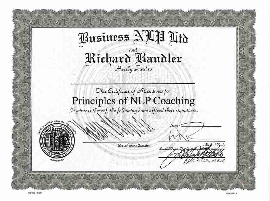 SNLP Certification